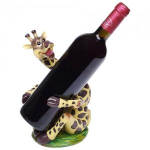 Подставка для бутылки «Жираф»