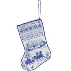 Набор для вышивания Рождественский сапожок
