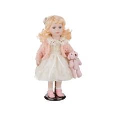 Фарфоровая кукла Мальвина с мягконабивным туловищем
