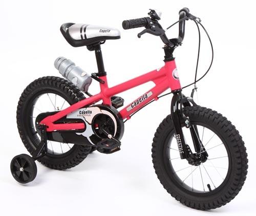 Велосипед Capella S-14, цвет: красный