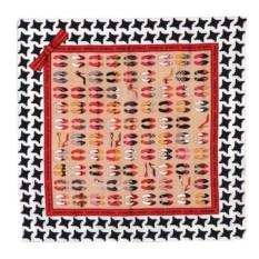 Шелковый платок Charles Jourdan модель «Escarpin»