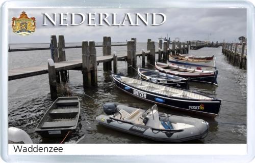 Магнит на холодильник: Нидерланды. Ваттовое море