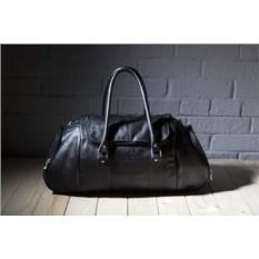 Кожаная дорожно-спортивная сумка Brialdi Modena (черный)
