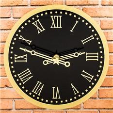 Стеклянные настенные часы Куранты