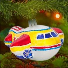 Елочная игрушка «Самолет»