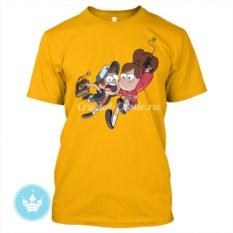 Мужская футболка Диппер и Мейбл