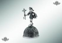 Серебряный колокольчик «Буратино»