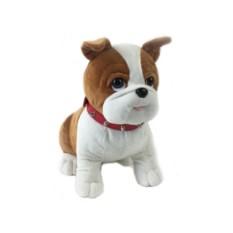 Музыкальная мягкая игрушка Собака, высота 30 см