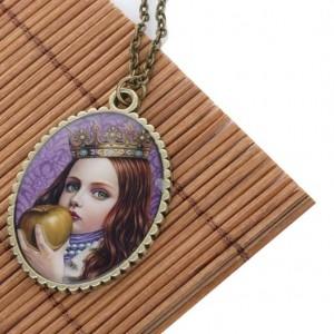 Медальон Девочка-принцесса