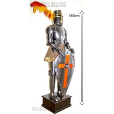 Напольный рыцарь (высота 160 см)