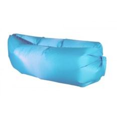 Надувной диван Ламзак голубого цвета