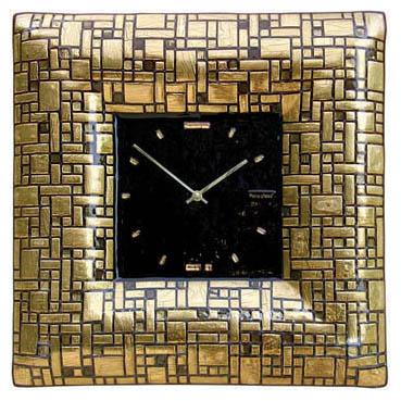 Настенные часы «Золотой лабиринт»  480x480 мм