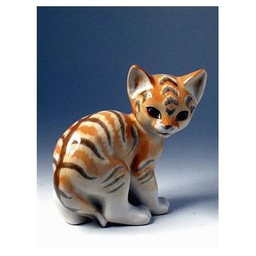 Анималистическая скульптура «Кошка»