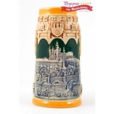 Коллекционная пивная кружка Замок в Праге