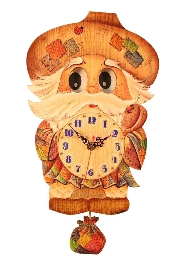 Настенные часы Домовой Бризоль Swarovski