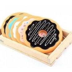 Набор подставок под кружки Пончики