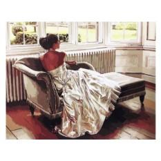 Картины по номерам «После бала»