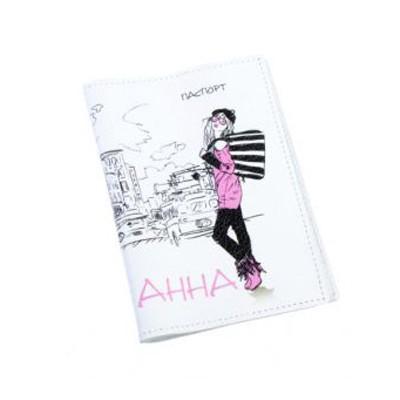 Обложка для паспорта Анна