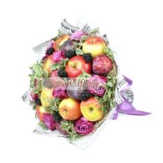 Букет из фруктов Ежевичка