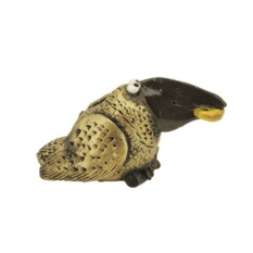 Керамический колокольчик «Богатая ворона»