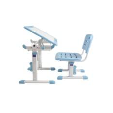 Голубой комплект стол+стул Трансформер