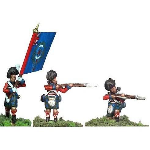 Британия 42 шотландский полк №2 (формы для литья) 25 мм