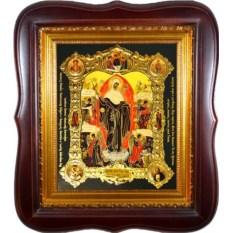 Икона Божьей Матери с грошиками Всех Скорбящих Радость