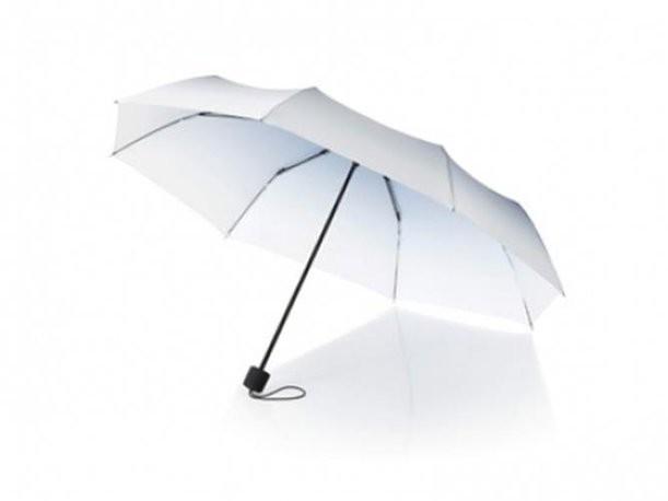Бело-синий зонт Shirley
