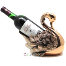 Статуэтка-подставка под бутылку Лебедь
