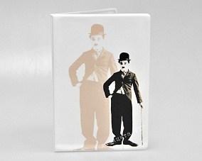 Обложка для паспорта «Чарли Чаплин»