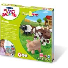 Набор для детей FIMO kids «Ферма»