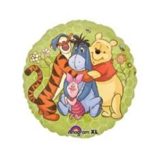 Фольгированный шар Винни и друзья