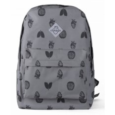 Серый городской рюкзак Сердце