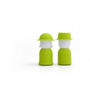Зеленая Солонка и перечница Mr. Pepper & Mrs. Salt