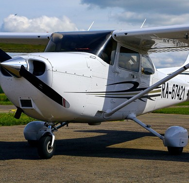 Полет на одномоторном Cessna 172 Skyhawk (20 мин.)