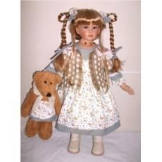 Фарфоровая кукла Селеста
