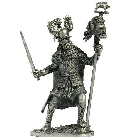 Кельтский воин с мечом, 5 век до н.э.