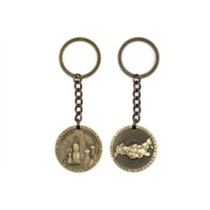 Сувенирный металлический брелок Собор Василия Блаженного