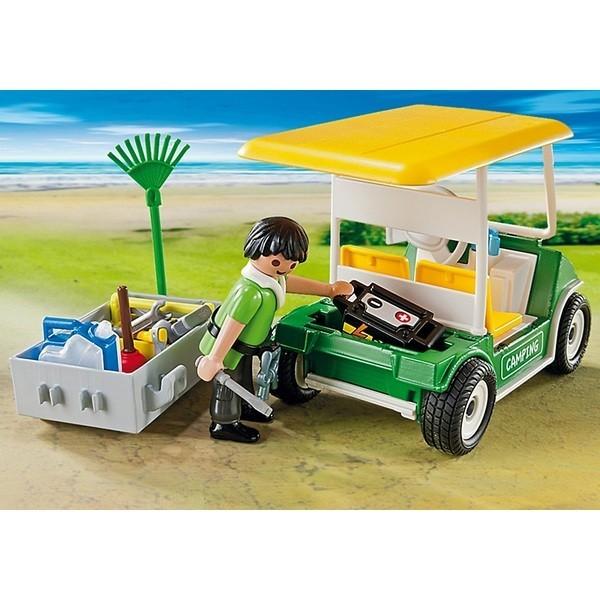 Конструктор Playmobil Машинка для обслуживания кемпинга