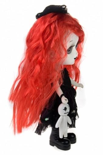 Кукла декоративная Ведьмочка с рыжими волосами