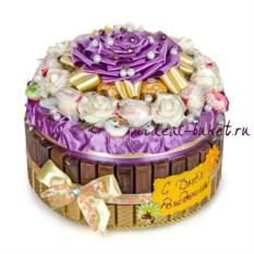 Торт-шкатулка День рождения