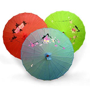 Восточный зонтик «Цветы»