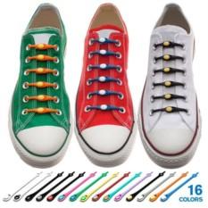 Силиконовые шнурки для обуви