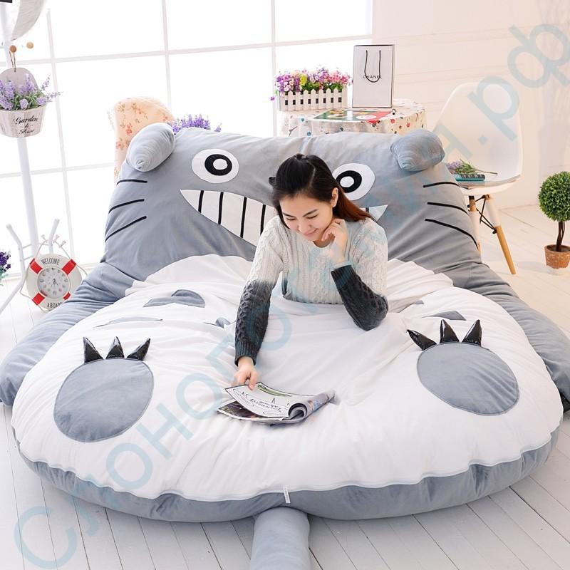 Кровать-подушка для всей семьи Тоторо