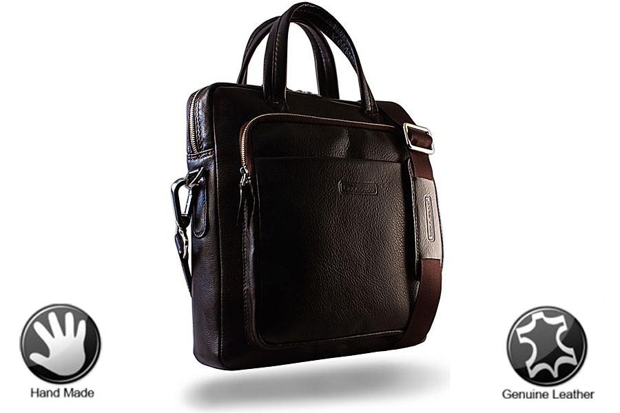 Кожаная сумка для ноутбука Casually 7-10 Bouletta
