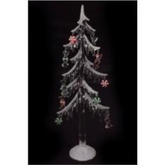 Новогоднее светящееся украшение Елка с подарками