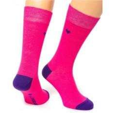 Розовые носки Friday Heel