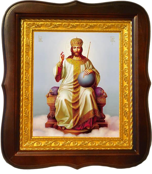 Царь Царей (Царь славы). Икона на холсте.