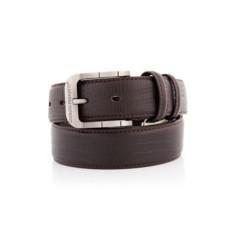 Темно-коричневый мужской кожаный ремень G.Ferretti тип 99-3