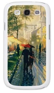 Чехол для Samsung S3 i9300, двое под зонтом